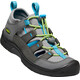 Keen Hikeport Vent Shoes Youth Magnet/Greenery
